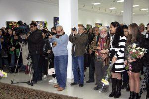 На открытии выставки 1