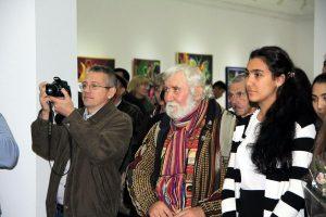 На открытии выставки 3