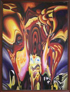 Взгляд из-за зеркалья. В.Бурмакин. 2011