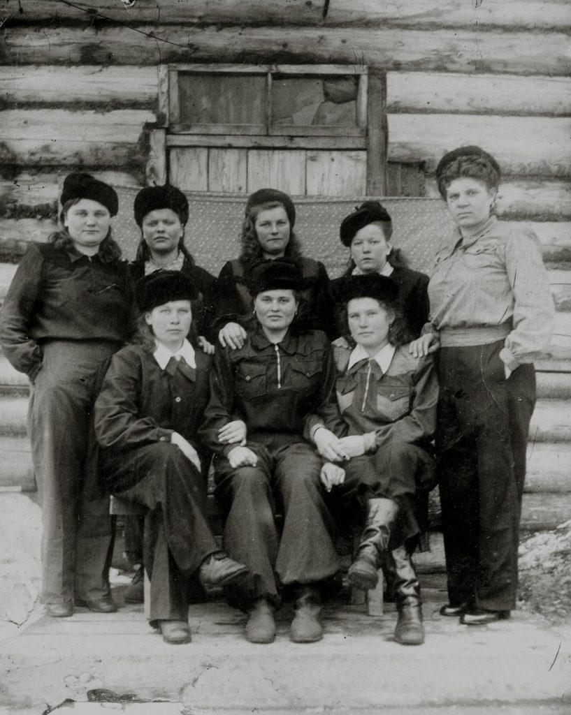 Уральские девушки.