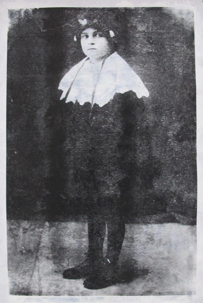 Фото мамы Нины Петрасовой. Фотография 1935 года.