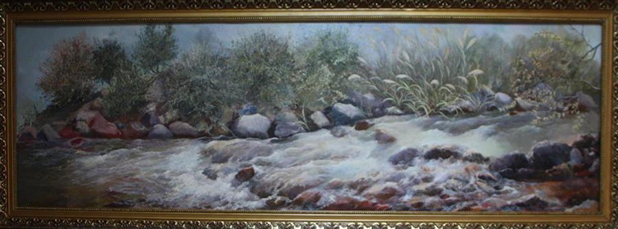 Акмал Мирсагатов. Кизл сув. (Красная вода)