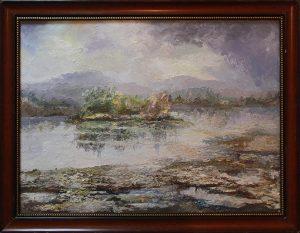 Акмал Мирсагатов. Озеро Ором. 2015