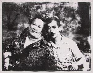 Бабуля и дядя Алишера