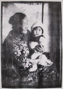 Бабушка Иры Кан. Фергана семидесятые годы.