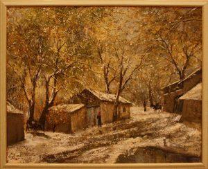 Хаким Мирзахмедов. Ранний снег. 2010
