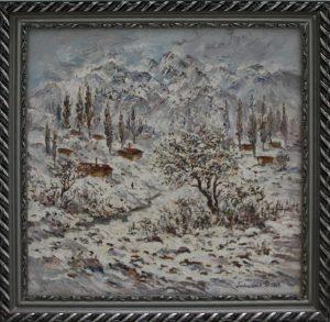 Паттахов Ф. Зимний пейзаж. 2008
