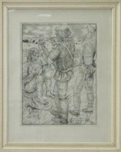 Александр Понамарёв. 7 легенд о Брейгеле. 1980 (ДХВ)