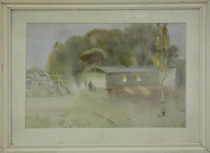 Енин И. Вечер в колхозе им. Крупской. 1977 (ДХВ)