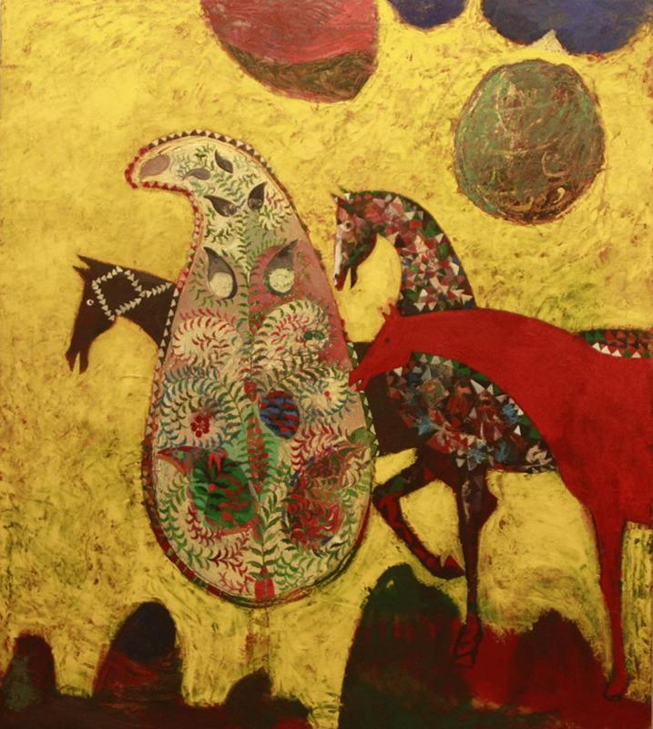 Фарух Ахмадалиев. Красный конь