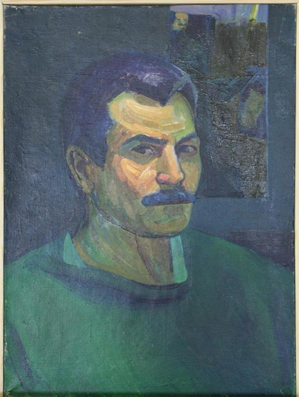 Махмуд Хусенов. Автопортрет