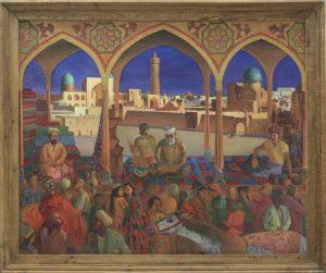 Махмуд Хусенов. Бухара - город большого величия. 1993