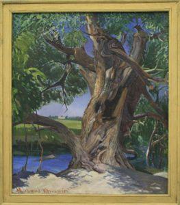 Махмуд Хусенов. Ива. 1992