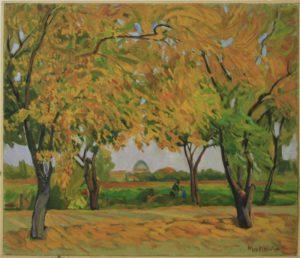 Махмуд Хусенов. Осень. 2004