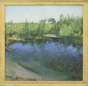 Махмуд Хусенов. Пруд. 1991