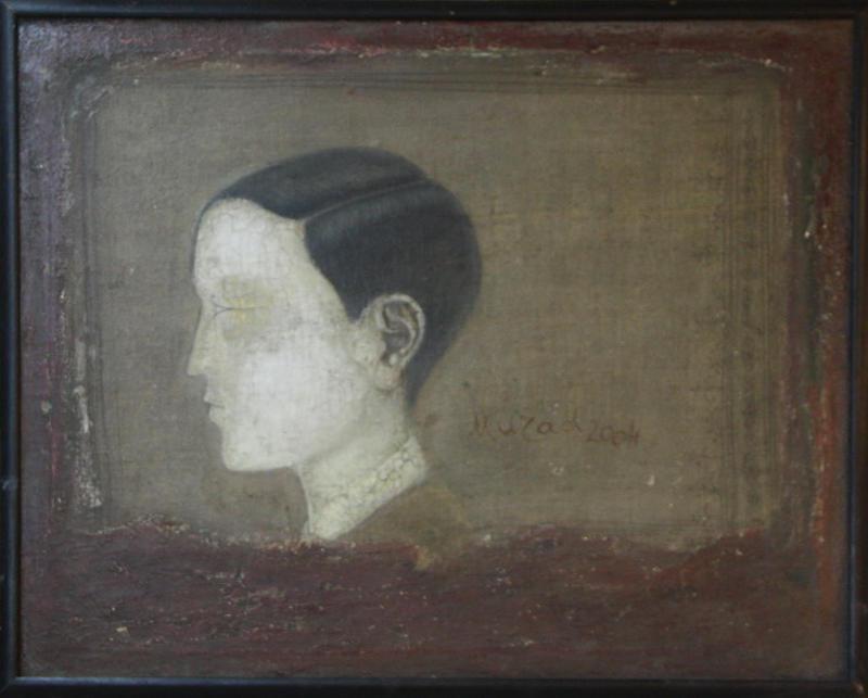 Мурод Карабаев. Стёртый портрет. 2004