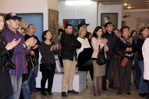 На открытии выставки 4