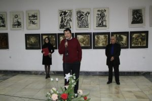 Открытие выставки Графики.