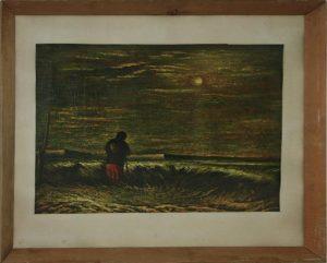 Р.Абдулгалимов. Пасмурный день на хлопковом поле. 1987 (ДХВ)
