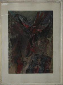 Разин А. Из серии _ Долина душ _ Приведение. 1989 (ДХВ).