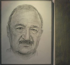 Тимур Рахметов. Портрет папы. 2013