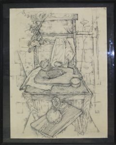 Тохтаев М. Осенний натюрморт. 1976 (ДХВ)