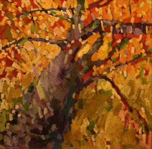 Елена Ли. Дерево в ноябре. 2000