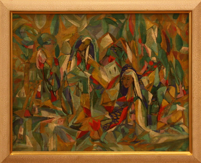 Лана Лим. Утро тюльпанов. 1997