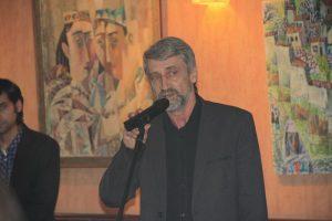 Сергей Абатуров на открытии проекта