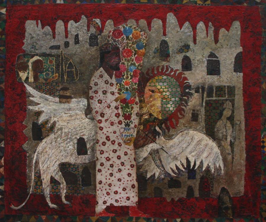 Ахмадалиев Ф. Безимянный художник Бухары. 2014