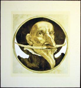 Апухтин Виктор. Иллюстрация к «Дон Кихоту». Дон Кихот