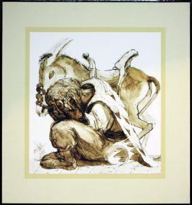 Апухтин Виктор. Иллюстрация к «Дон Кихоту» 4