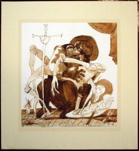 Апухтин Виктор. Иллюстрация к «Дон Кихоту» 6