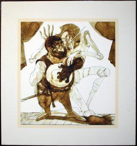 Апухтин Виктор. Иллюстрация к «Дон Кихоту» 8