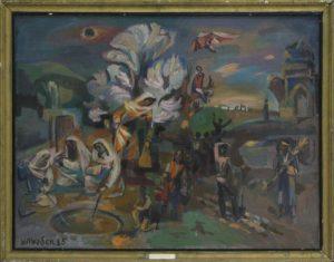 Болтабаев У. первый рассвет весны. 1985 (ДХВ)
