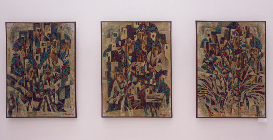 Экспозиция Х. Зияханова