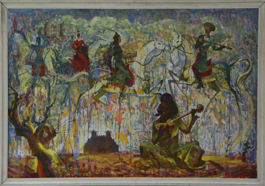 Курязов Т. Бахши Суяр. 1989 (ДХВ)