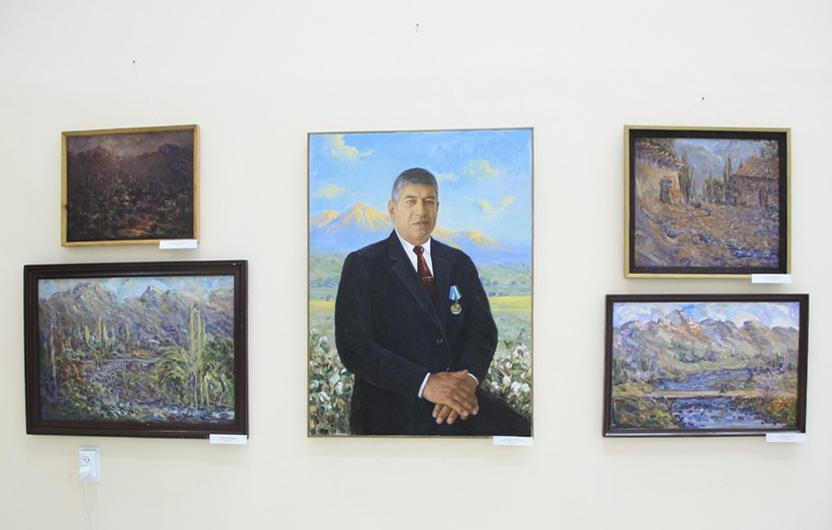 Маматалиев Худойшукур. Экспозиция