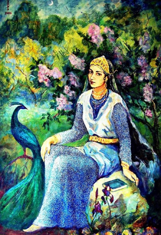 Маматова Азиза, 110х95, 2000 г