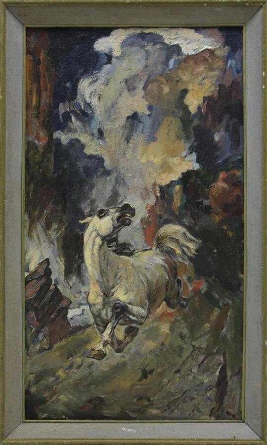 Мордвинцев П. Стихия. 1984 (ДХВ)