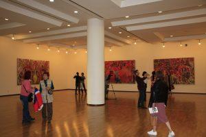 Первый экспозиционный зал.