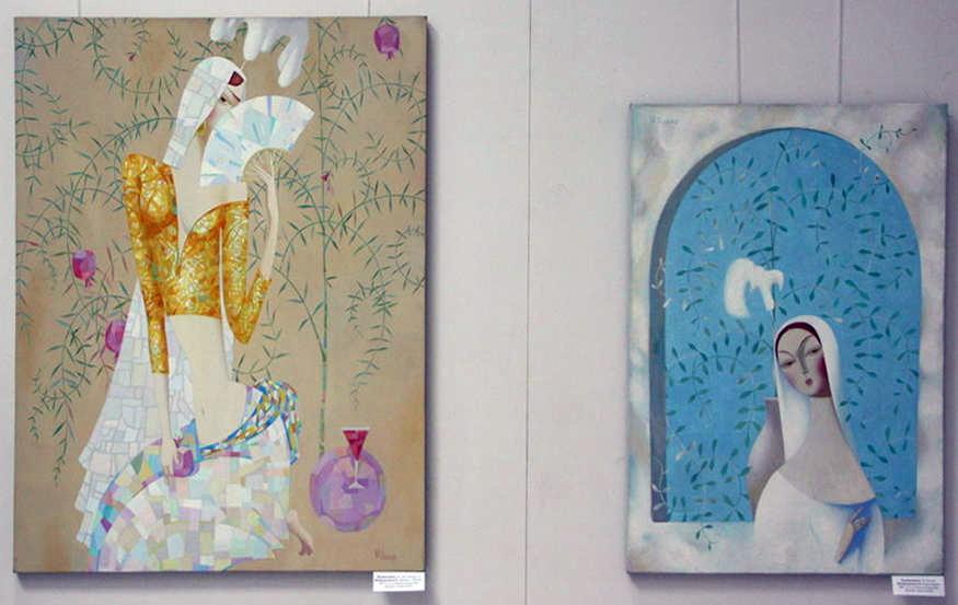 Шоабдурахимов Н. Девушка с гранатом. 2012, Божья коровка. 2005