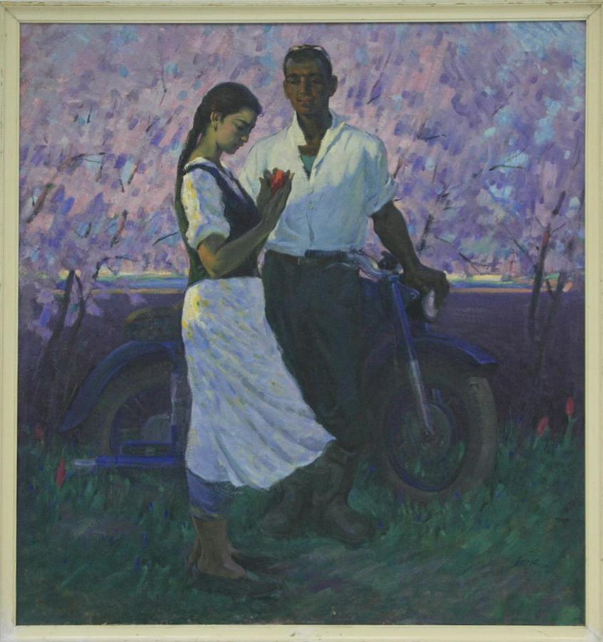 Токмин Б. Весна. 1964 (ДХВ)