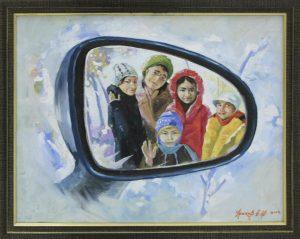 Ураков Бахтиёр. Отражение.2014