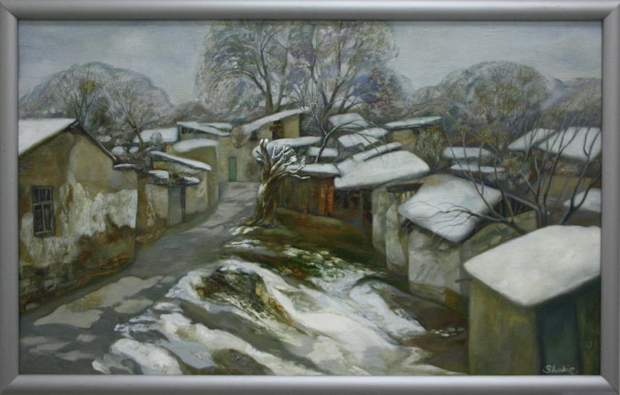 Закиров Ш. Зимняя дорога. 2012