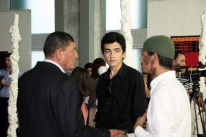 Беседа на выставке «Мир внутри тишины». (2)
