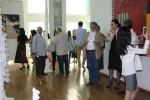 На выставке «Мир внутри тишины». (2)