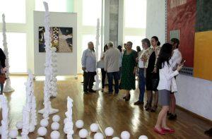 На выставке «Мир внутри тишины».