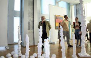 На выставке «Мир внутри тишины». Я.Салпинкиди