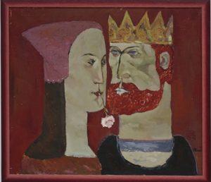 Павел Кичко. Король и королева. 1990